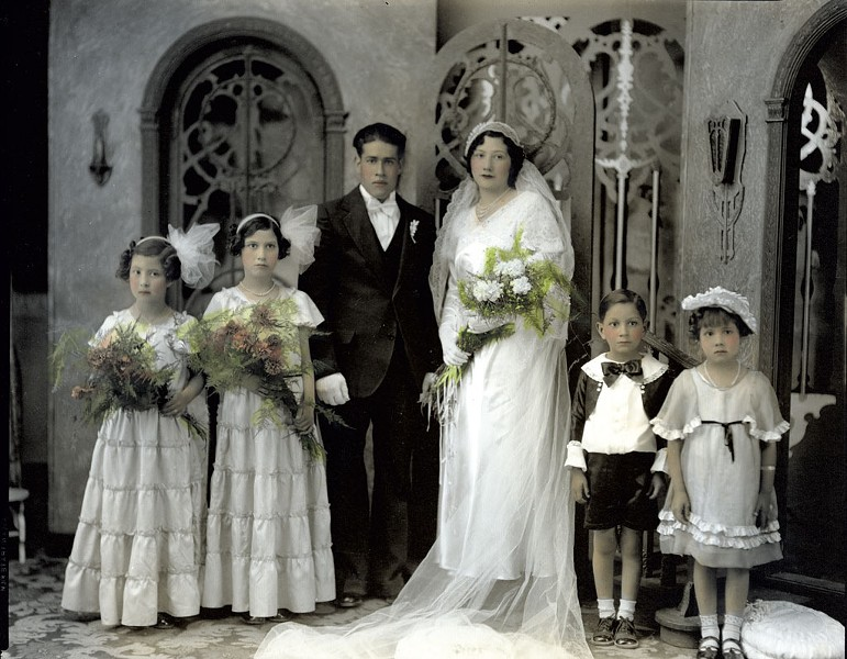 """Wedding of Caroline Pedregon and Jesus Jose Urquidi,"" photograph by Alfonso Casasola - COURTESY OF MIDDLEBURY COLLEGE OF ART"