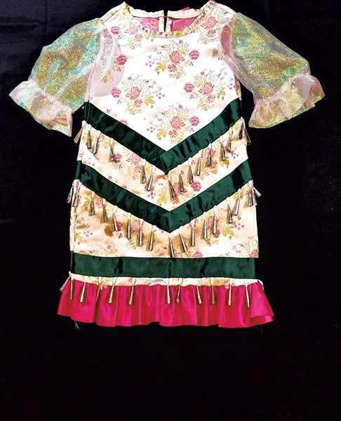 """Powwow Style Jingle Dress"" by Takara Mathews - COURTESY OF TAKARA MATHEWS"
