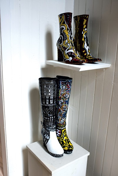 """""""Can't Lose Shoes Collection"""" by Rick Skogsberg - CALEB KENNA"""