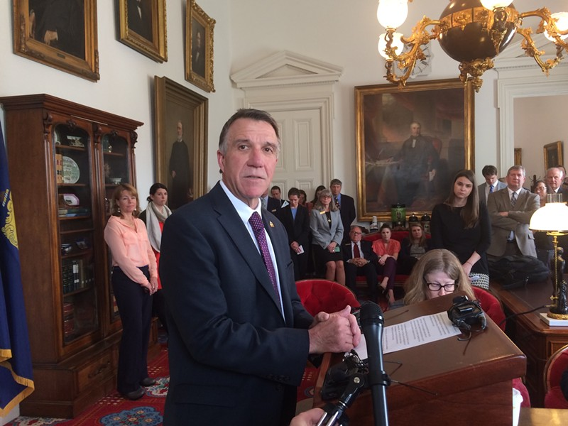 Gov. Phil Scott - FILE: ALICIA FREESE