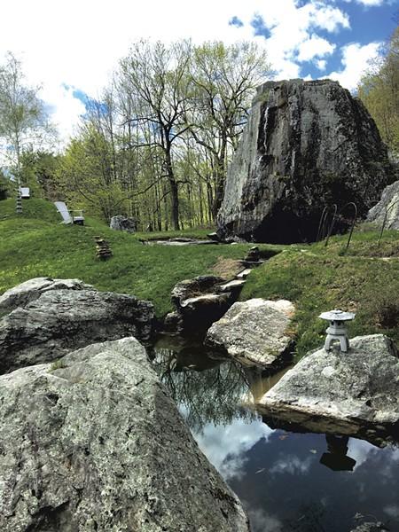 Japanese garden - ALYSSA BENNETT