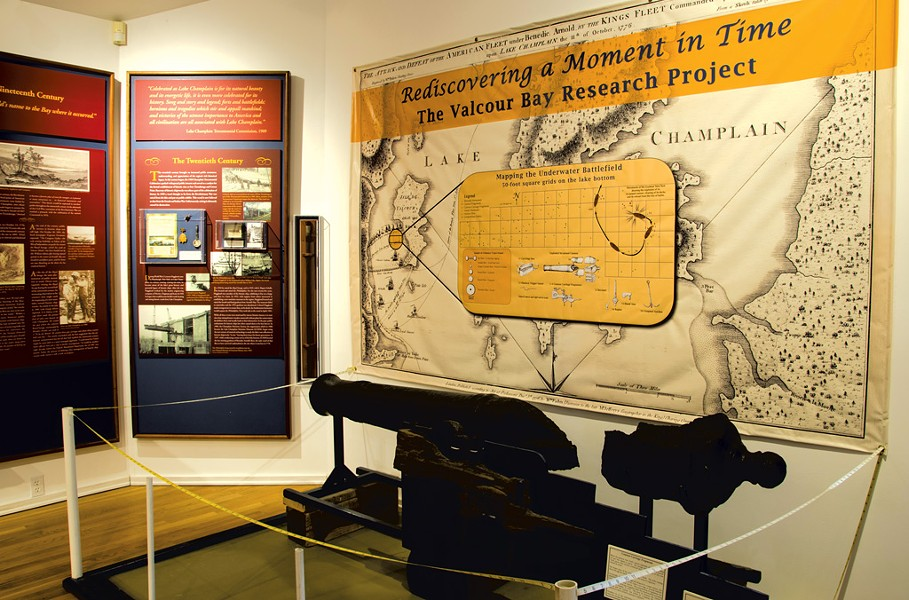 """The Key to Liberty"" exhibit - COURTESY OF LAKE CHAMPLAIN MARITIME MUSEUM"