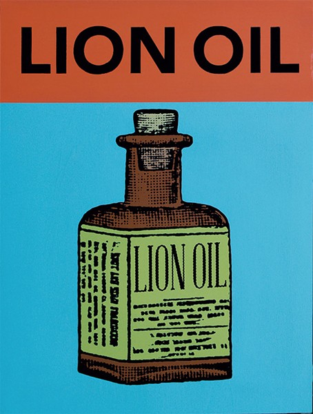 "Lion Oil"" - COURTESY OF W. DAVID POWELL"