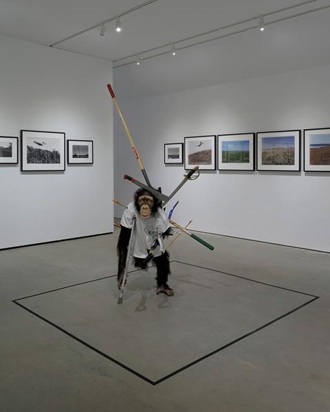 """""""Fuck'd"""" by Tony Matelli - COURTESY OF HALL ART FOUNDATION"""