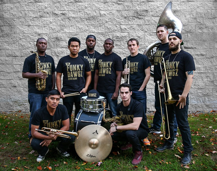 Funky Dawgz Brass Band - COURTESY OF FUNKY DAWGZ BRASS BAND