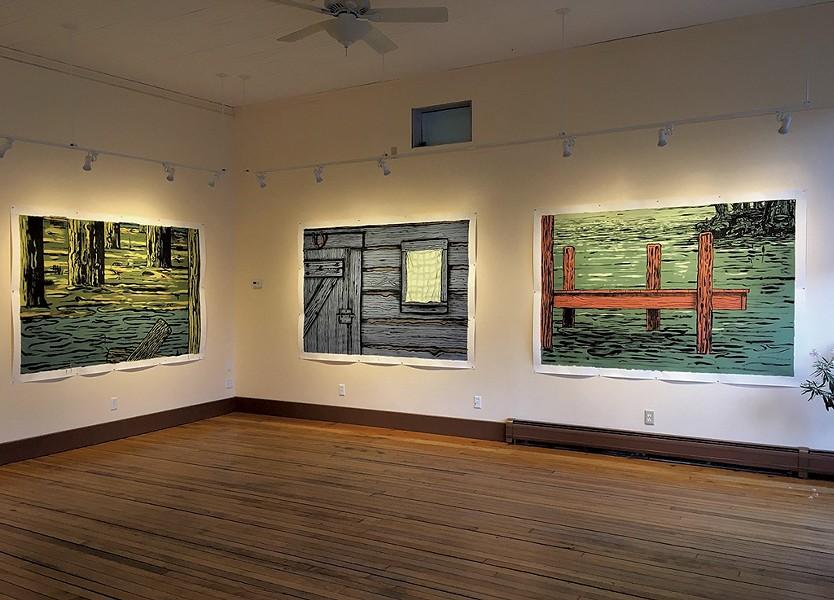 Patrick Dunfey installation view