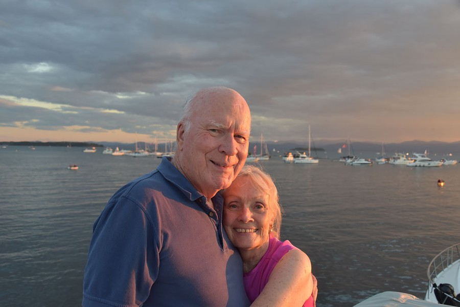 Sen. Patrick Leahy and wife, Marcelle - COURTESY OF SEN. PATRICK LEAHY