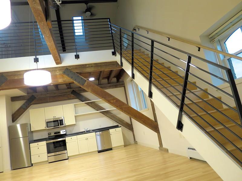 Interior of a Liberty House apartment - MATTHEW THORSEN