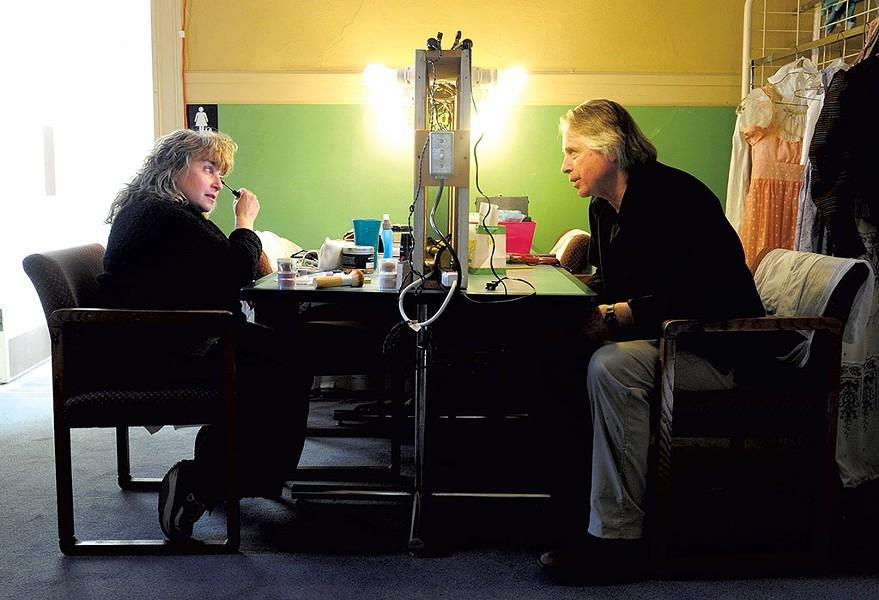 Kathleen Keenan (left) and Kim Bent - JEB WALLACE-BRODEUR