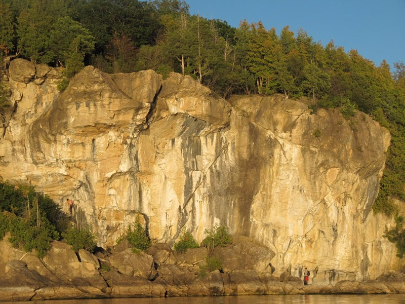 Rock Point in Burlington - COURTESY CRAG-VT
