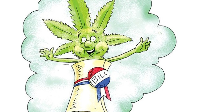 Tax-and-Regulate Pot Bill Revived in Vermont House