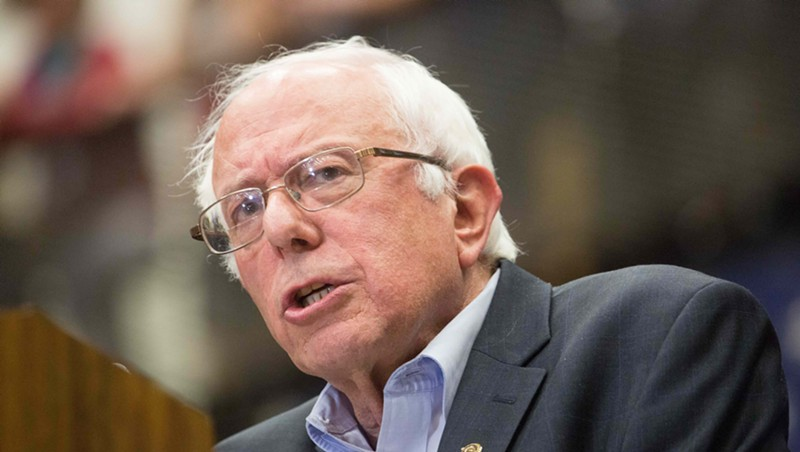Bernie Sanders' Senate War Chest Reaches a Record $8.8 Million