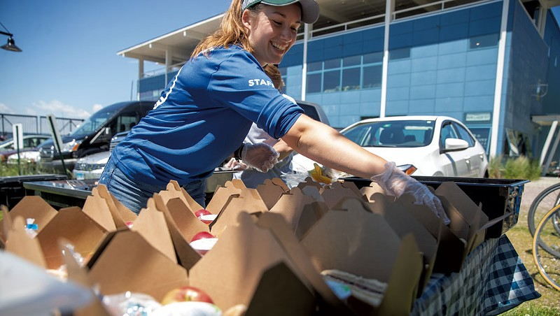 A Burlington Project Helps Feed Kids When School Is Out