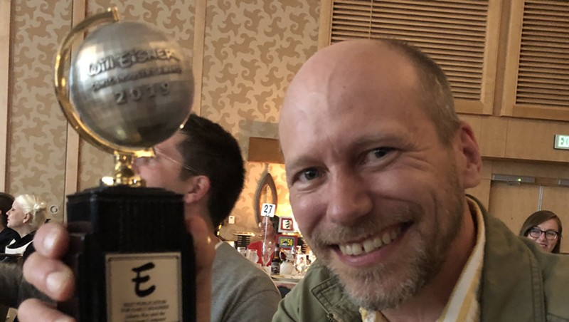James Kochalka Wins Eisner Award for 'Johnny Boo and the Ice Cream Computer'