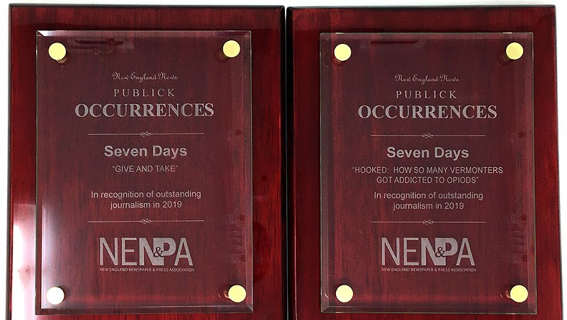 Seven Days Wins Two Awards in Regional Media Competition