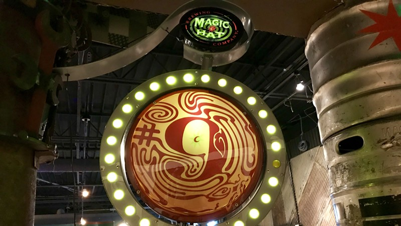 The Magic Hat taproom