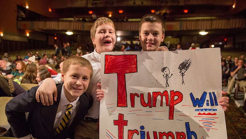 Slideshow: Scenes From Donald Trump's Visit to Burlington