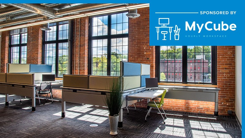 Tired of Working From Home? Rent a Private Work Space at MyCube in Winooski