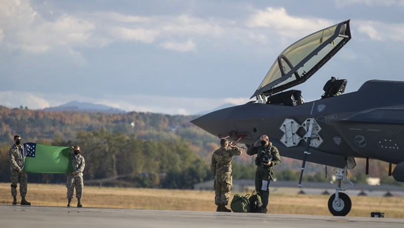 Twentieth — and Final — F-35 Jet Arrives in Vermont