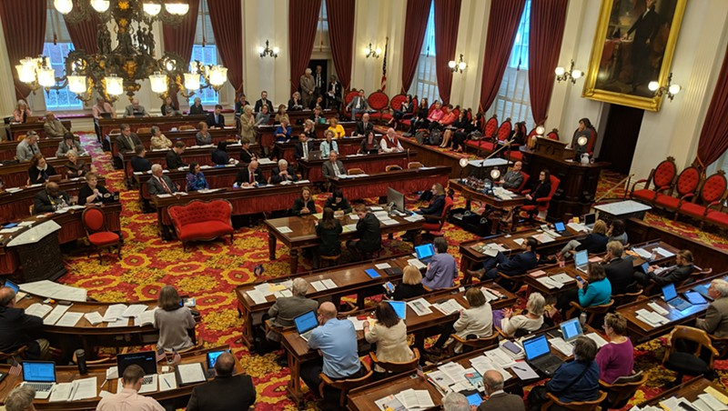 The Vermont House of Representatives