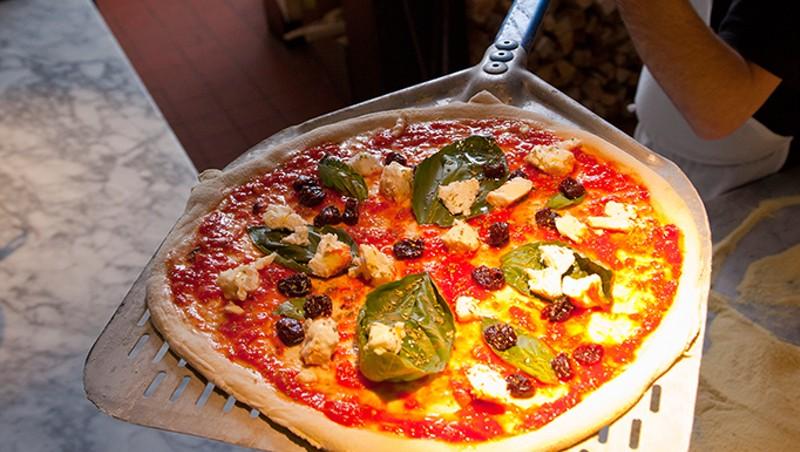 Fresh out of the oven at Pizzeria Verità