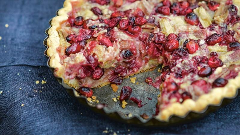 Home on the Range: Ellen Ecker Ogden's Rhubarb Pie With Ginger and Lemon