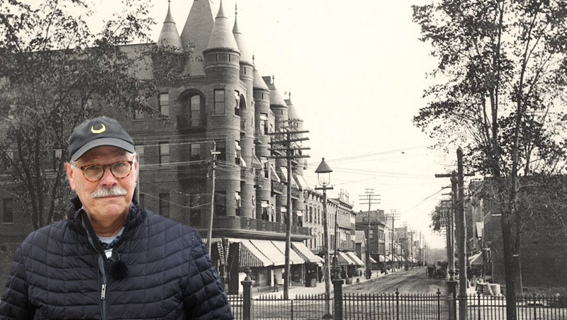 Stuck in Vermont: Bob Blanchard Shares His Love of Burlington History Online