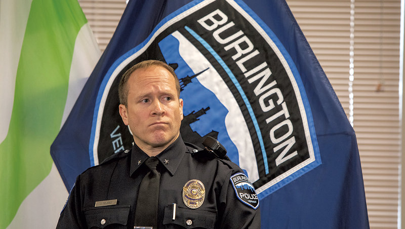 Burlington Police Chief Requests Coronavirus Relief Funds to Pay Officer Bonuses