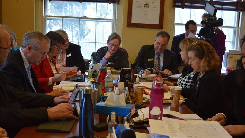 The House Government Operations Committee meeting this week