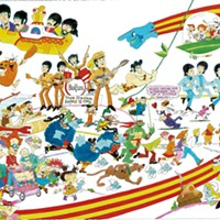 Animator of 'Yellow Submarine' and Classic TV Shows Pops Up in Burlington