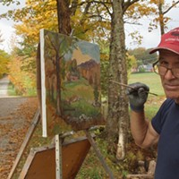 Stuck in Vermont: Painting Fall Foliage With Landscape Artist Eric Tobin