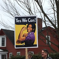 Photos From the Women's March on Montpelier  Jeb Wallace-Brodeur
