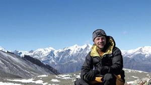Austin Borg on the Annapurna Circuit in Nepal