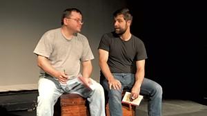 Erik Gaetz (left) and Will Moore