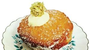 A Miss Weinerz doughnut
