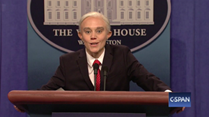 "Kate McKinnon as Jeff Sessions on ""Saturday Night Live"""