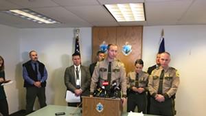 Vermont State Police Col. Matt Birmingham