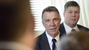 Gov. Phil Scott outlines new gun-control proposals.