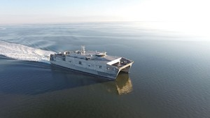 An expeditionary fast transport ship
