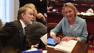 Rep. David Sharpe and Sen. Carolyn Branagan