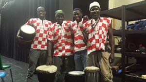 Africa Jamono, left to right: Ali Dieng, Mamadou Gueye, Pape Ba, Mame Assane Coly