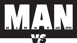 The Tsunamibots vs Brand New Luddites, Man vs Machine