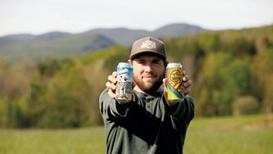 Mike Czok of Bent Hill Brewery