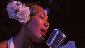 Francesca Harper as Billie Holiday