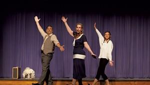 From left: Scott Weigand, Jennifer Warwick and Abby Erwin