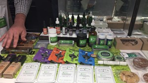 Products at the dispensary