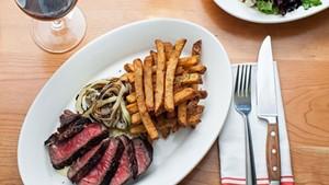 Steak at Guild Tavern
