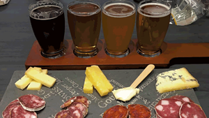 Cheese Charcuterie Beer Tasting