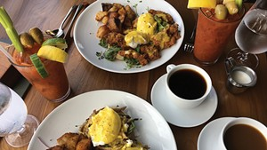 Brunch at Bleu Northeast Seafood