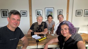 From left: Jim Lockridge, Paul Schnabel, Ilana Wagener, Jake Yeomans and Tina Escaja